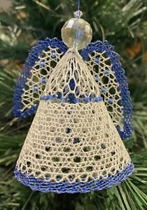 Silver Bell Christmas Torchon Bobbin Lace Pattern Lacemaking *PATTERN ONLY*