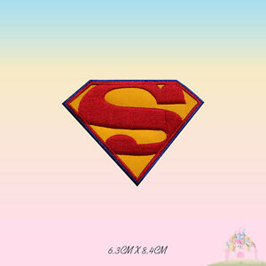 Super Man Super Hero Movie Embroidered Iron On Sew On Patch Badge