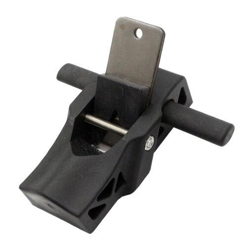 Black Mini Flat Plane Bottom Edged DIY Woodworking Wood Hand Planer Tool