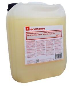Handwaschcreme-Handreinigung-Seife-Reiniger-Cremeseife-Fluessigseife-10-Liter-Neu