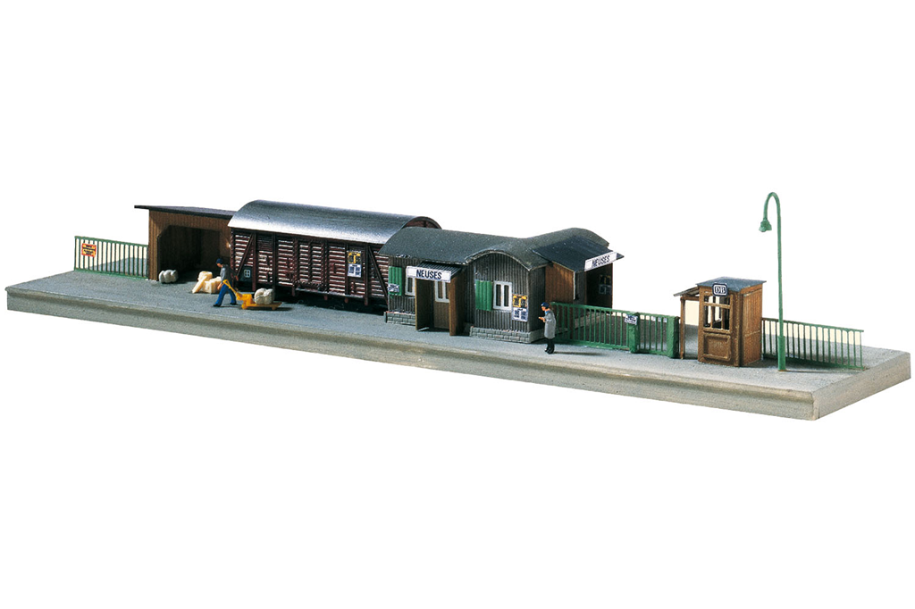 Piko N Scale 60028 Temporary Railway Station, Building Kit (N-Scale) HH