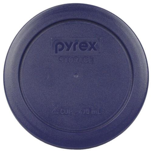Pyrex 7202-PC 7200-PC 7201-PC 7402-PC Dark Blue 7 Piece Plastic Replacement Lids