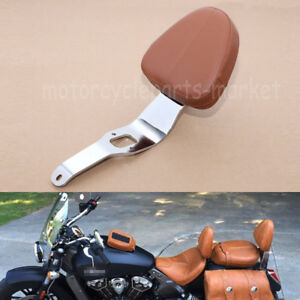 Passenger Sissy Bar Backrest with Pad For Indian Scout 2015-2018 Sixty 2016-2018