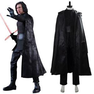 Star Wars 9 The Rise Of Skywalker Kylo Ren Cosplay Costume Uniform Cloak Outfit Ebay