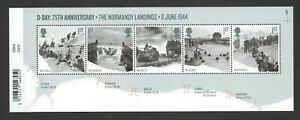 GB-2019-D-DAY-75TH-STAMP-MINIATURE-SHEET