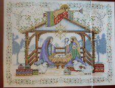 Victorian Shabby Chic Mary Baby Jesus Christmas DIGITAL Cross Stitch Pattern