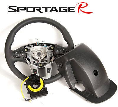 [Kspeed] (Fits: KIA 2011-2013 Sportage R) Genuine Leather Heated Steering Wheel