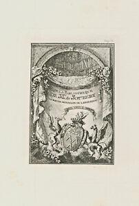 Ex Libris Antique Heraldry Exlibris By