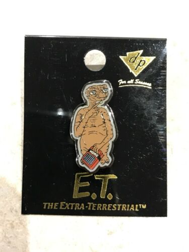 E.T Vintage Pin No Longer Made. Pin The Extra Terrestrial!