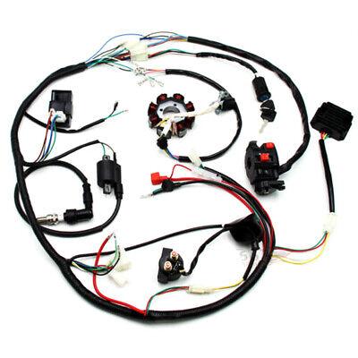 electrics atv quad 150 200cc 250cc cdi coil wiring harness zongshen lifan  engine | ebay  ebay