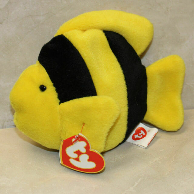 MWMT Ty Beanie Baby Bubbles SP Fish -