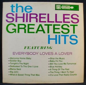 The Shirelles Greatest Hits Original Issue Album Girl