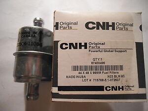 CNH FUEL FILTER 87400496 -NEW (44 x 49 x 98 MM)