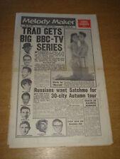 MELODY MAKER 1961 MAY 20 ELVIS ACKER BILK CHRIS BARBER TRAD FAD GENE VINCENT +