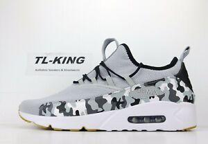 Detalles acerca de Nike Air Max 90 EZ Blanco Negro Gris Lobo Camo Goma Inferior AO1745 006 precio de venta sugerido por el fabricante USD $120 CW