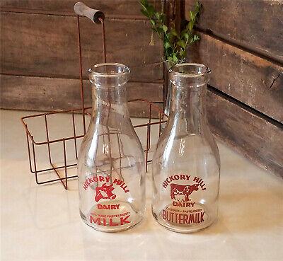 Primitive Country Farmhouse Vintage Milk Bottles Rusty Wire Metal Carrier Basket Ebay