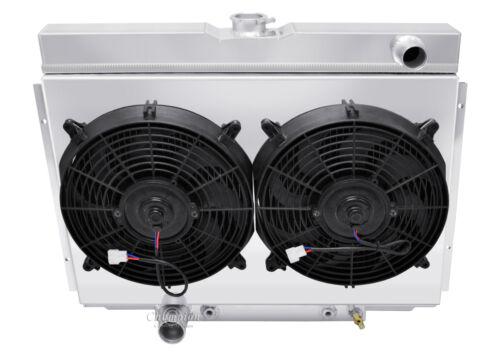 "Ford Torino Big Block Custom Aluminum Fan Shroud /& 2-12/"" Fans-16/""H x 24 1//4/""W"