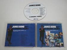 VARIOUS/JAMES BOND - 13 ORIGINAL THEMES(LIBERTY CDP 746079 2) CD ALBUM