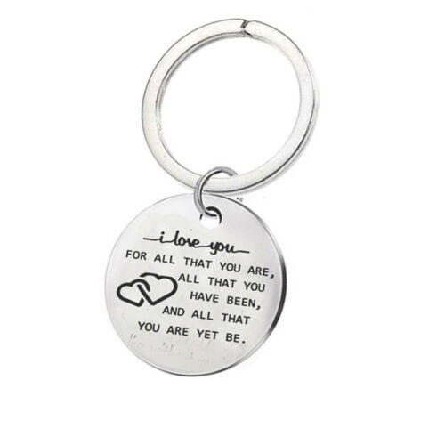 Keyring I Love You For Who You Are But That Dick Sure Is A Bonus Keychain KV