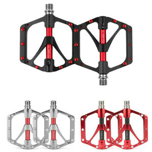 PROMEND Mountain Bicycle Pedal Mtb Road Bike Large Wide Ultralight 3 Bearings