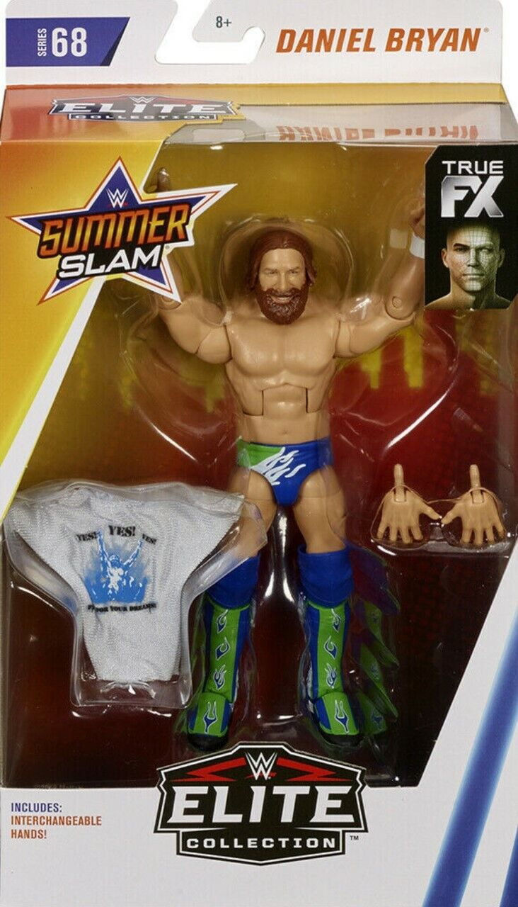 L/'ESTATE WWE Undertaker SLAM Kane Maschera MATTEL Elite Series 68 Figura Wrestling