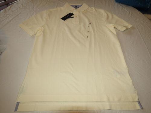 Men/'s Tommy Hilfiger Polo shirt logo 7884297 Essex Ivory 111 L large Classic Fit