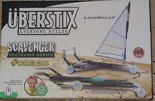 Uberstix Scavenger Dragster & Land sailer Uber Stix New Construction Toy