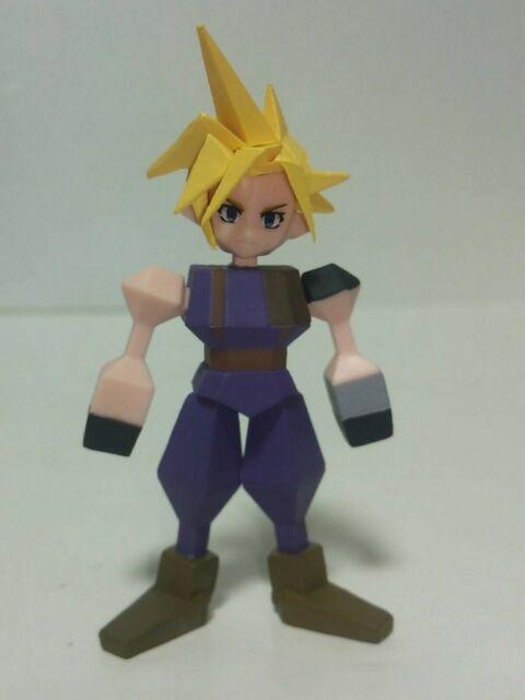 Final Fantasy VII REMAKE CLOUD Mini Figure lottery Kuji G Prize FF7
