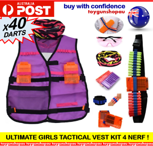 GIRLS-TACTICAL-VEST-KIT-FOR-NERF-N-STRIKE-ELITE-GIRLS-NERF-GUN-TOY-GUN-FOR-GIRLS