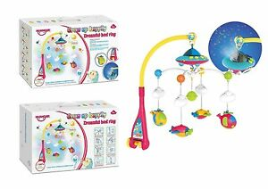 Baby Soft Musical Bed Cot Mobile Stars Dreams Projection Nusery Lullaby Toys Uk
