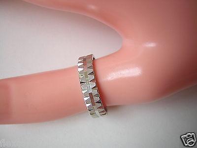 Honesty Diamantierter Weißgold Gold Ring 333 8 Kt Gr 56/ 3,52 G Jewelry & Watches