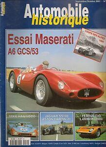 AUTOMOBILE-HISTORIQUE-10-MASERATI-A6-CGS-JAGUAR-SS100-TALBOT-T26C-ASTON-15-98