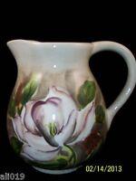 Magnolia Glazed Ceramic Pitcher 8 By Barbara Mock Floral Arrangement