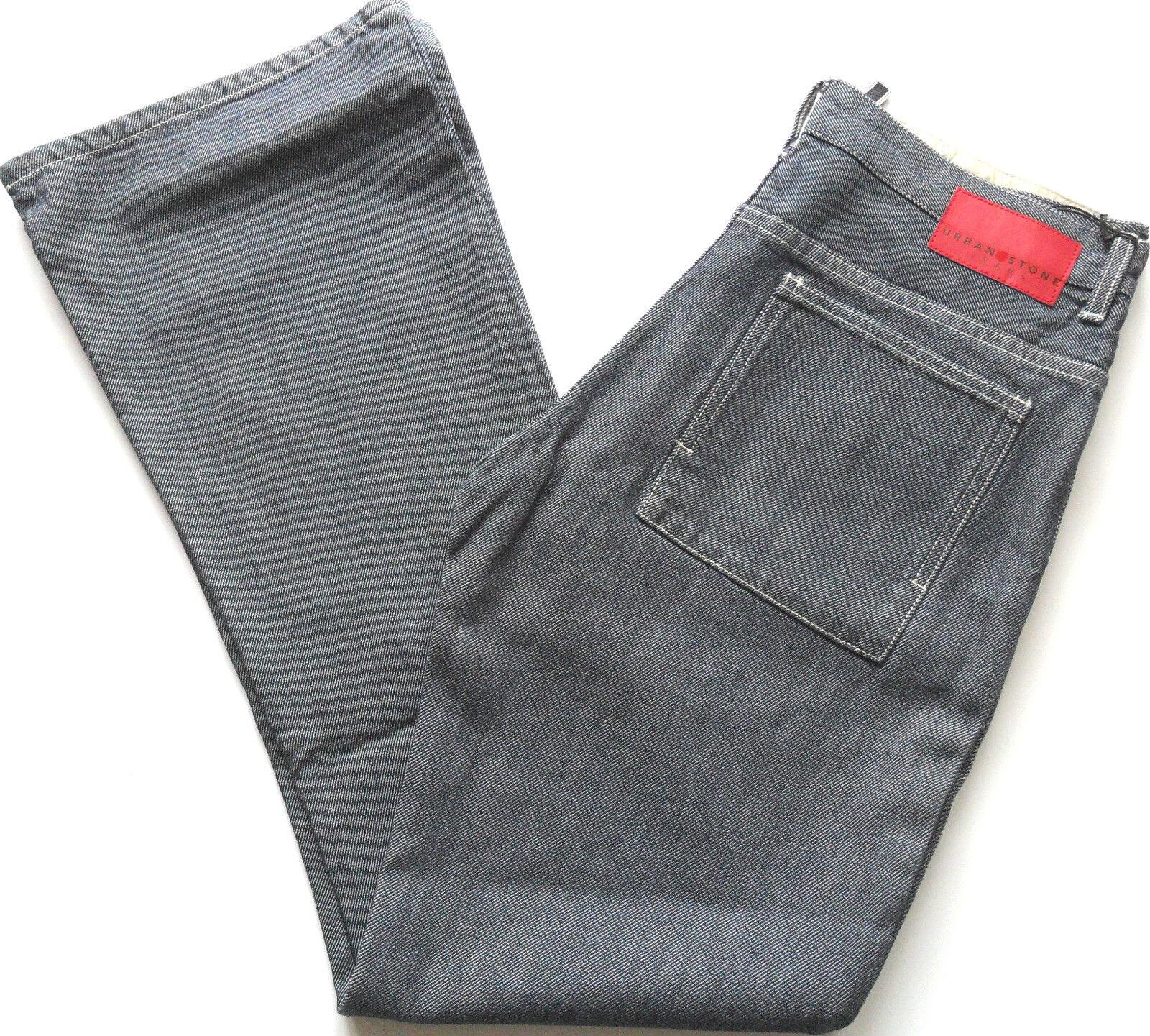 URBAN STONE Mens Flarot Denim Jeans Zip Fly One Wash Waist 30 32 36  | Online-verkauf  | Neueste Technologie  | Moderater Preis