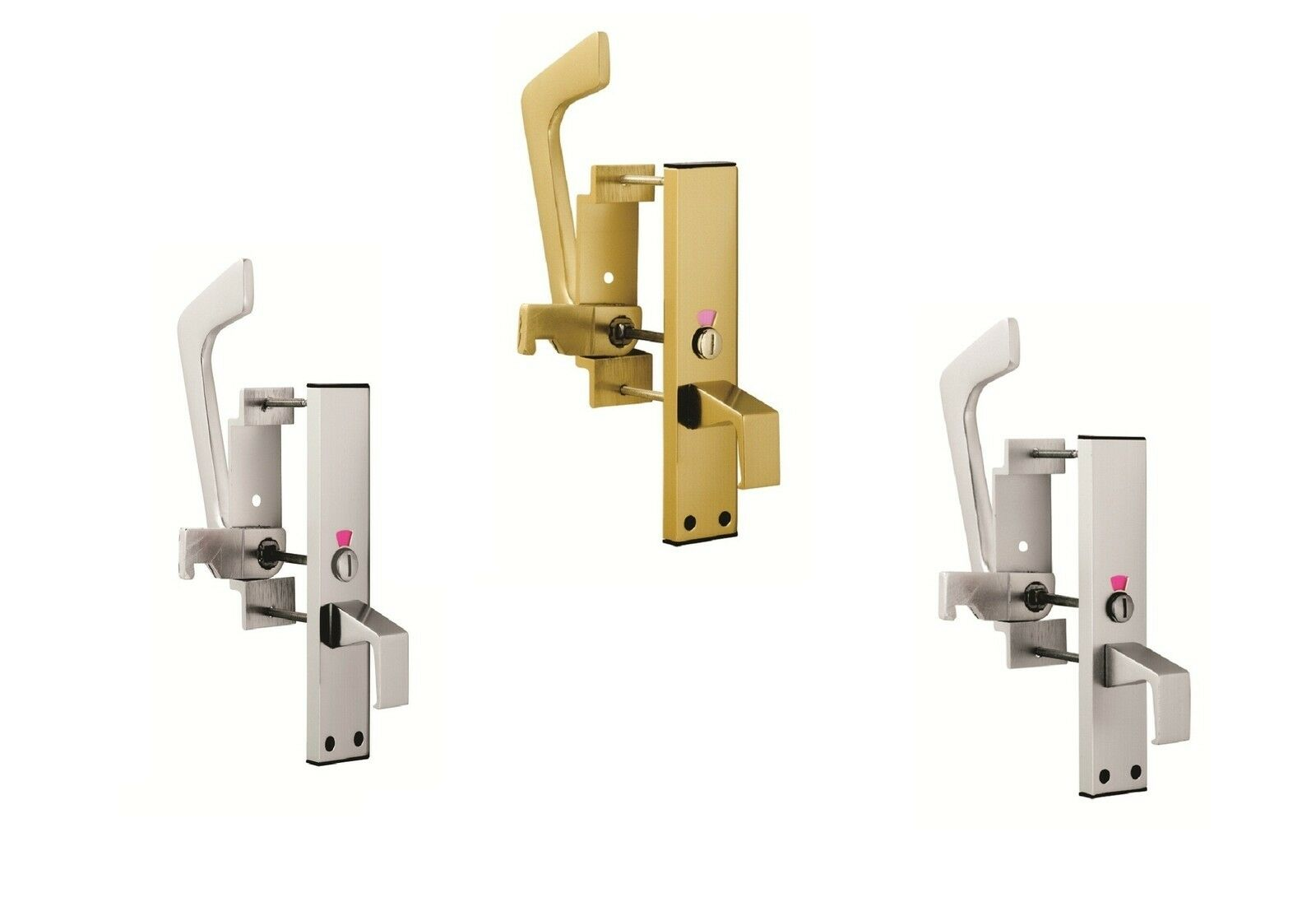 Carlisle Brass - EST9625 - EUROSPEC - Aluminium Disabled Toilet Handle Set