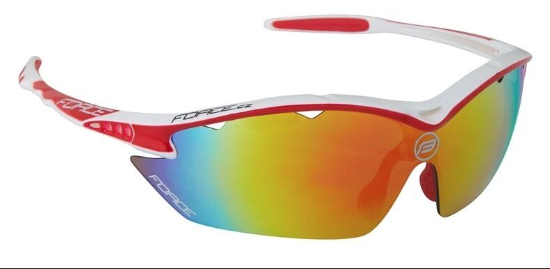GLASSES FORCE RON color WHITE-RED