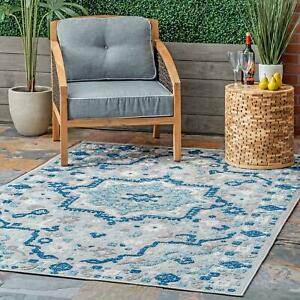 nuLOOM-Indoor-Outdoor-Contemporary-Celestial-Area-Rug-in-Blue