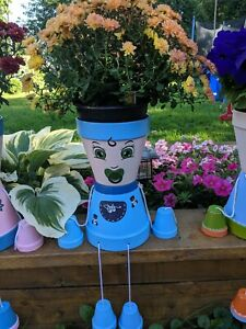 Flower pot people baby christian