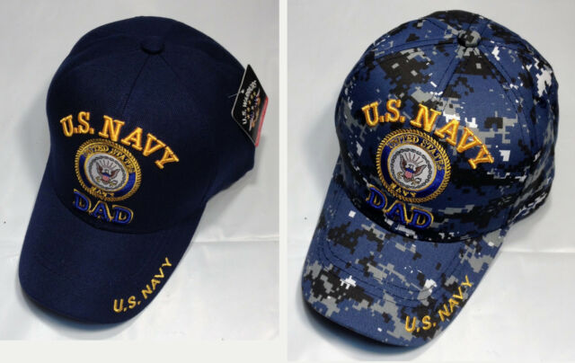 0132dca2b1c US Navy DAD Ball Cap Father s Day Gift OEF OIF Father Vietnam Gulf War USN  Hat