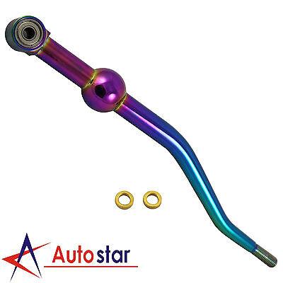 1990-2001 Acura Integra NEO CHROME ALUMINUM Dual Bend Short Throw Shifter DA DC2