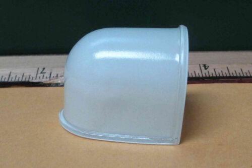 S1023-4 SODERBERG MFG WHITE OPAQUE GLASS LENS FOR AVIATION   NEW OLD STOCK