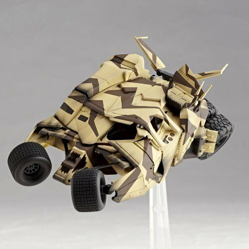 kb10 Tokusatsu Revoltech No.047 The Dark Knight Trilogy BATMOBILE TUNBLER CANNON