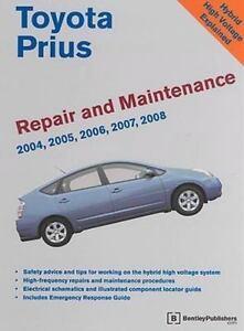 toyota prius repair and maintenance manual 2004 2005 2006 2007 rh ebay com 2013 Toyota Prius 2005 toyota prius repair manual pdf