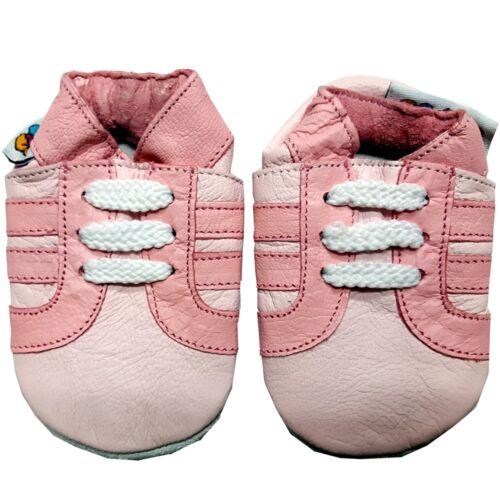 cc En cuir souple chaussures de bébé pour bébé garçons filles 0-6,6-12,12-18,18-24 mois