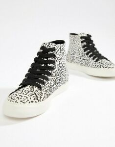 ASOS DESIGN District high top trainers