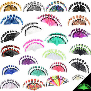 36Pcs-LongBeauty-Ear-Gauge-Taper-Stretching-Kit-Ear-Tunnel-Plug-14G-00G-Piercing
