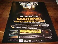 AKHENATON - PUBLICITE LIVE AU DOCK DES SUDS !!!!!!!