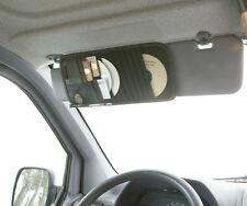 Car Interior CD, Coins & Card Sun Visor Organiser Storage Tidy Wallet - Black
