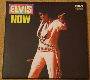 CD-Album-Elvis-Presley-Elvis-Now-Mini-LP-Style-Card-Case-NEW