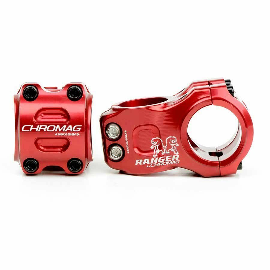 Chromag Ranger V2 Stem 1-1 8'' L  31mm 0 Dia  31.8mm Red